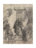 The Madonna and Child with Saints Giclée-tryk af Fra Bartolommeo