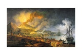 Eruption of Vesuvius in 1771, 1779 Giclée-Druck von Pierre Jacques Volaire