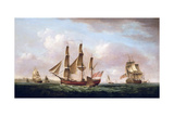 The Columbus Giclee Print by Francis Holman