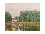 The Banks of the Canal at Moret-Sur-Loing, 1892 Giclee Print by Alfred Sisley