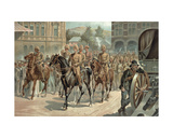 Lord Roberts' (1832-1914) Entry into Pretoria on 5th June 1900 Giclee Print by Richard Caton Woodville