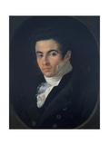 Portrait of Vincenzo Bellini Giclee Print by Giuseppe Cammarano
