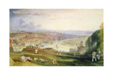 Chatham, Towards Fort Pitt Giclee Print by J. M. W. Turner