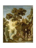 The Temptation of St. Anthony Giclee Print by Marten Ryckaert