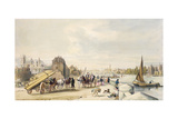 Lambeth and Westminster from Millbank Giclee Print by William Parrott