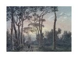 Florence from a Wood Near the Cascine Giclee Print by John Robert Cozens