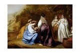 The Finding of Moses Giclee Print by Abraham Lamberts Jacobsz van den Tempel