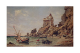 Tower of Erchia, Gulf of Salerno, 1849 Giclee Print by Edward William Cooke