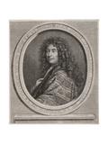 Jean-Henri D'Anglebert (1635-91) Engraved by Cornelius Vermeulen (1642-92) Giclee Print by Paul Mignard