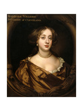 Portrait of Barbara Villiers (1641-1709), Duchess of Cleveland, C.1680 Giclee Print by Sir Peter Lely