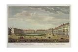 A View of St. James's Square, London, 1753 Giclee Print by Thomas Bowles