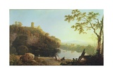 Classical Landscape: View on the Arno Giclee Print by Richard Wilson