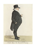 Mr. Nathan Rothschild (1777-1836), from 'Dighton's City Characters', October 1817 Giclee Print by Richard Dighton
