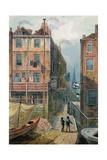 Hungerford Stairs, C.1810 Giclee Print by George Shepherd