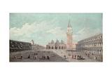 Piazza San Marco Giclee Print by Luca Carlevaris