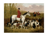 The Start Giclee Print by John Frederick Herring Jnr
