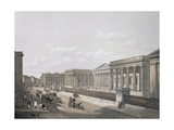 The British Museum, Engraved by William Simpson (1823-99), Pub. 1852 by Lloyd Bros. and Co. Giclee Print by Edmund Walker