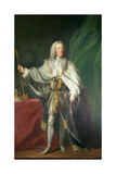 Portrait of King George II, 1758 Giclee Print by John Shackleton
