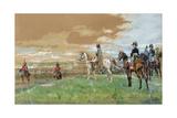 Jena (Napoleon on Horseback) 1880 Giclée-tryk af Jean-Louis Ernest Meissonier