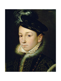 Charles IX (1550-74) Giclee Print by Francois Clouet