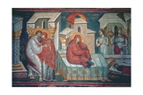 The Birth of the Virgin Giclee Print by  Michael Astrapas and Eutychios