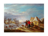 Late Winter in Flanders Giclee Print by Theobald Michau
