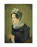 Katharina Oldach, the Aunt of the Artist, 1824 Giclee Print by Julius Oldach