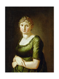 Pauline Runge (1785-1881) the Wife of the Artist, 1805 Giclee Print by Philipp Otto Runge