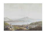 Naples from Posillipo Giclee Print by Jacob More