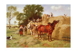 The Haymakers Giclee Print by Richard Beavis