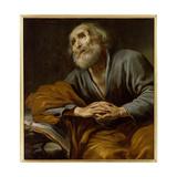 St. Peter Repentant Giclée-Druck von Claude Vignon
