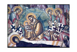 Detail of the Dormition of the Virgin Giclee Print by  Michael Astrapas and Eutychios