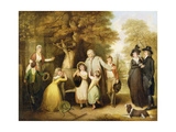 The Benevolent Heir or the Tenant Restored to His Family Giclee Print by William Redmore Bigg