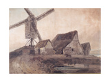 The Old Mill at Stanstead, Essex Giclee Print by Thomas Girtin