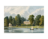 Hampton House, Engraved by Richard Gilson Reeve (1803-89), Published 1828 Giclee Print by William Westall
