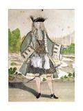 Louis Antoine De Pardaillan De Gondrin (1665-1736) Marquis of Antin Giclee Print by Henri Bonnart