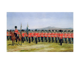 The Royal Fusiliers, 1876 Giclee Print by Richard Simkin