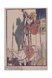 Don Quixote from 'Don Quixote De La Mancha' by Cervantes Giclee Print by Walter Crane