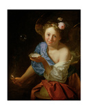 Allegory of Fortune Giclee Print by Godfried Schalcken
