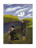 The Wonderful Flower Giclee Print by Hugo Simberg