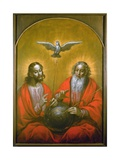 The Holy Spirit with a Model of Ptolemy's World, 1610 Giclee Print by Hermann Han