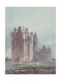 Glamis Castle Giclee Print by Thomas Girtin