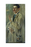 Portrait of Otto Eckmann (1865-1902) Giclee Print by Lovis Corinth