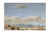 Study of the Sky at Quirinal Giclée-Druck von Pierre Henri de Valenciennes