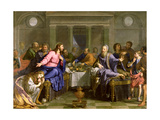Christ in the House of Simon the Pharisee, C.1656 Giclee Print by Philippe De Champaigne