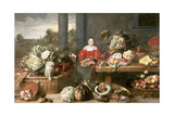 A Fruit Stall Giclee Print by Frans Snyders Or Snijders