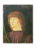 Portrait of St.Lawrence Giustiniani, Bishop of Venice Giclee Print by Giovanni Bellini
