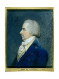 Portrait of Duc De Liancourt (1747-1827) Giclee Print by James Sharples
