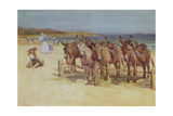 The Longsands, Tynemouth, Northumberland Giclee Print by John Atkinson