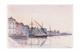 St. Tropez Giclee Print